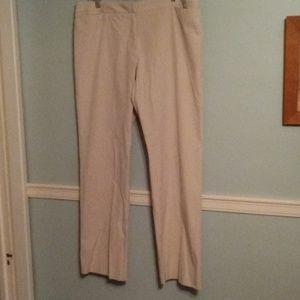 Anne Taylor Loft khaki pants